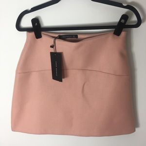 Zara blush pink skirt new with tags small